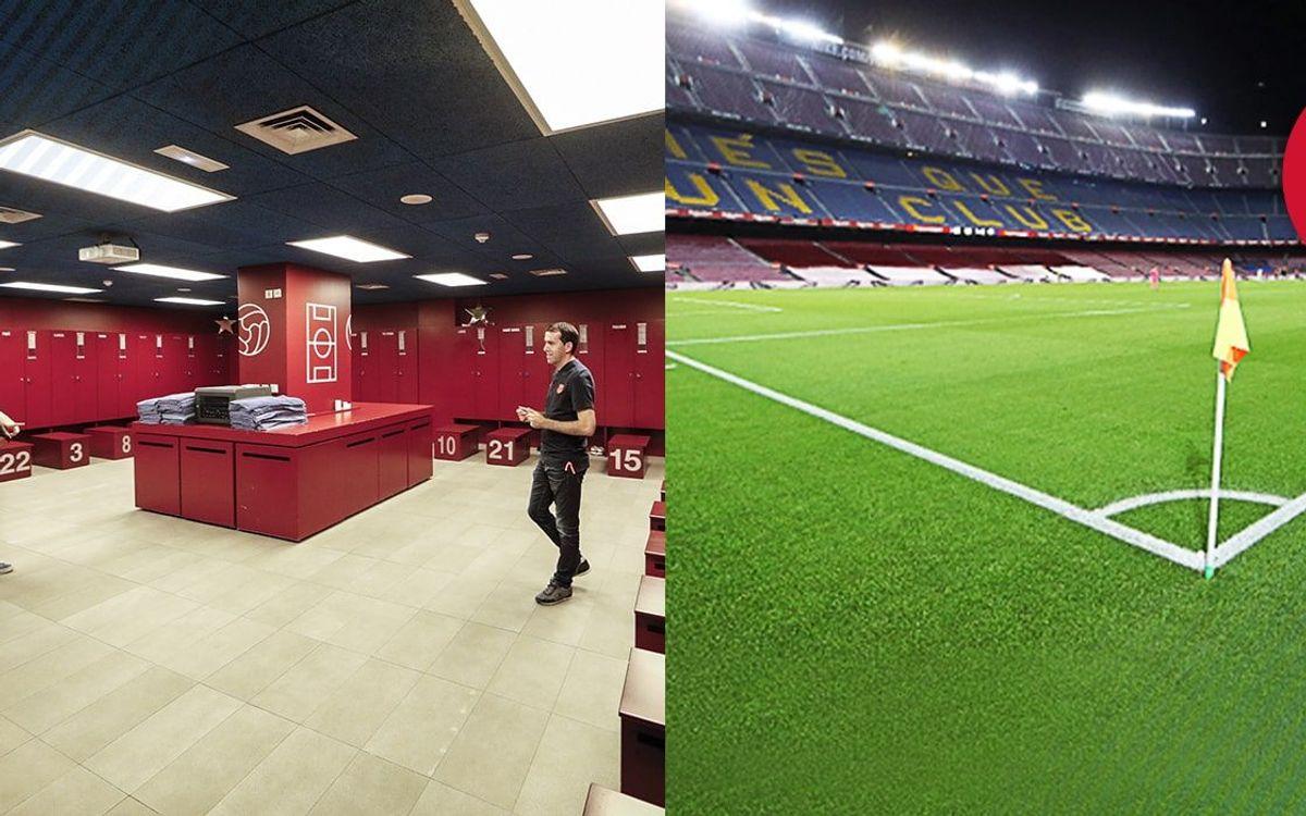 Découvrez le Players Experience Tour au Musée du Barça