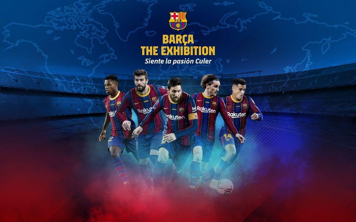 La nueva exposición itinerante 'Barça, The Exhibition' traslada al visitante al Camp Nou gracias a la tecnología inmersiva