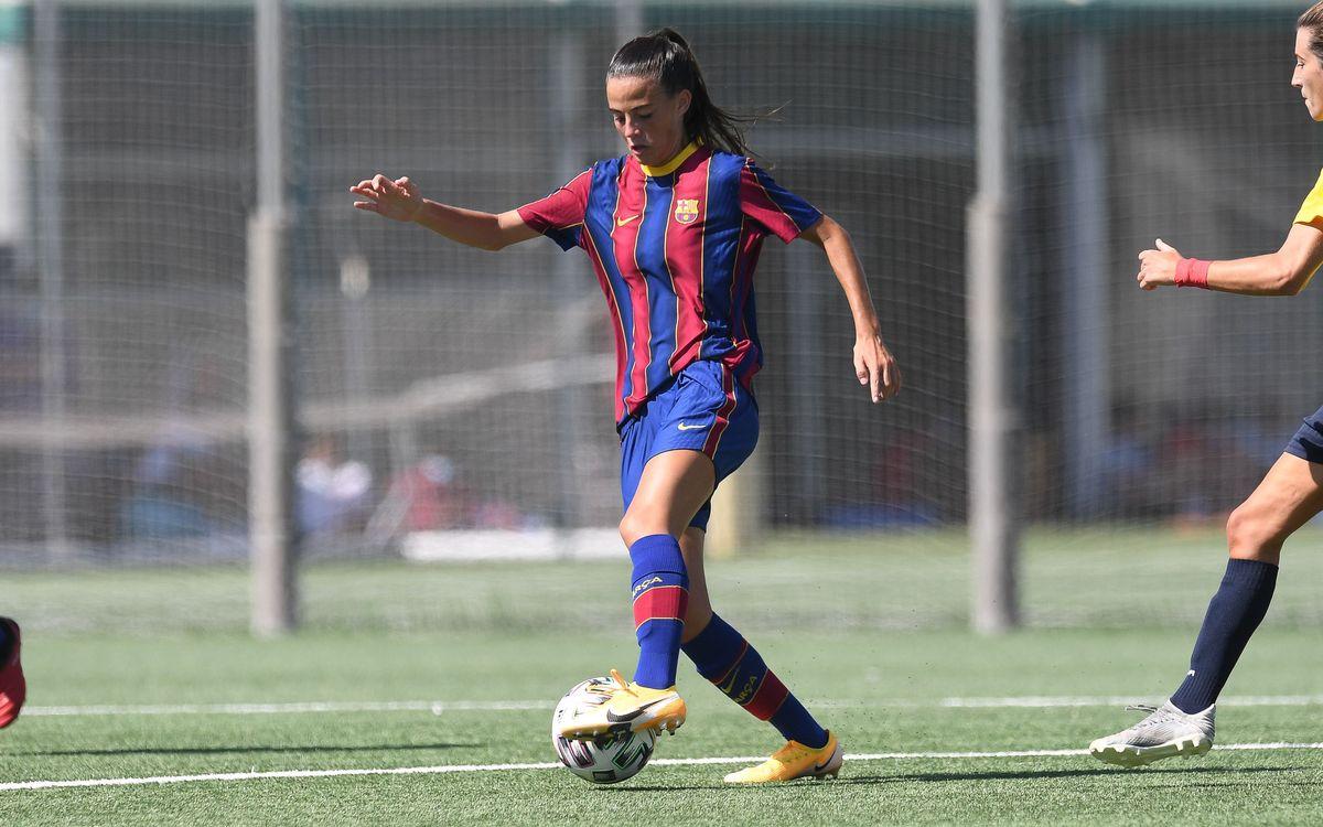 Arrenca la Lliga del FC Barcelona B Femení