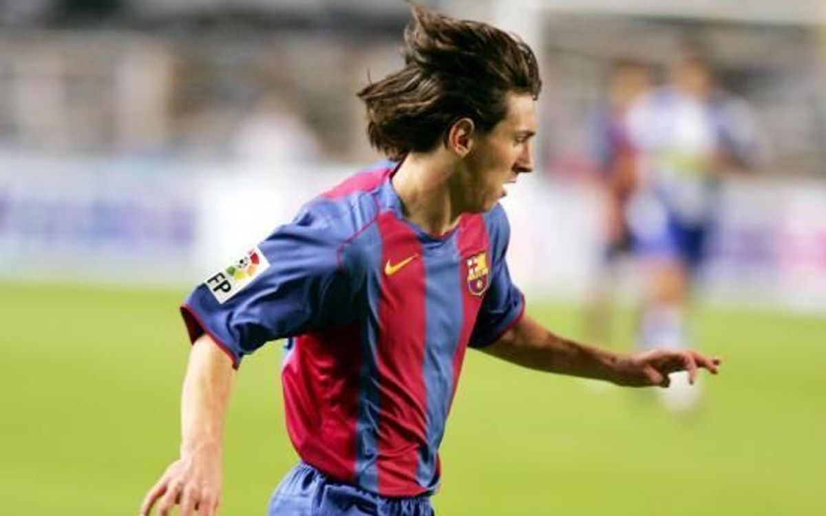 16 years today since Leo Messi's debut