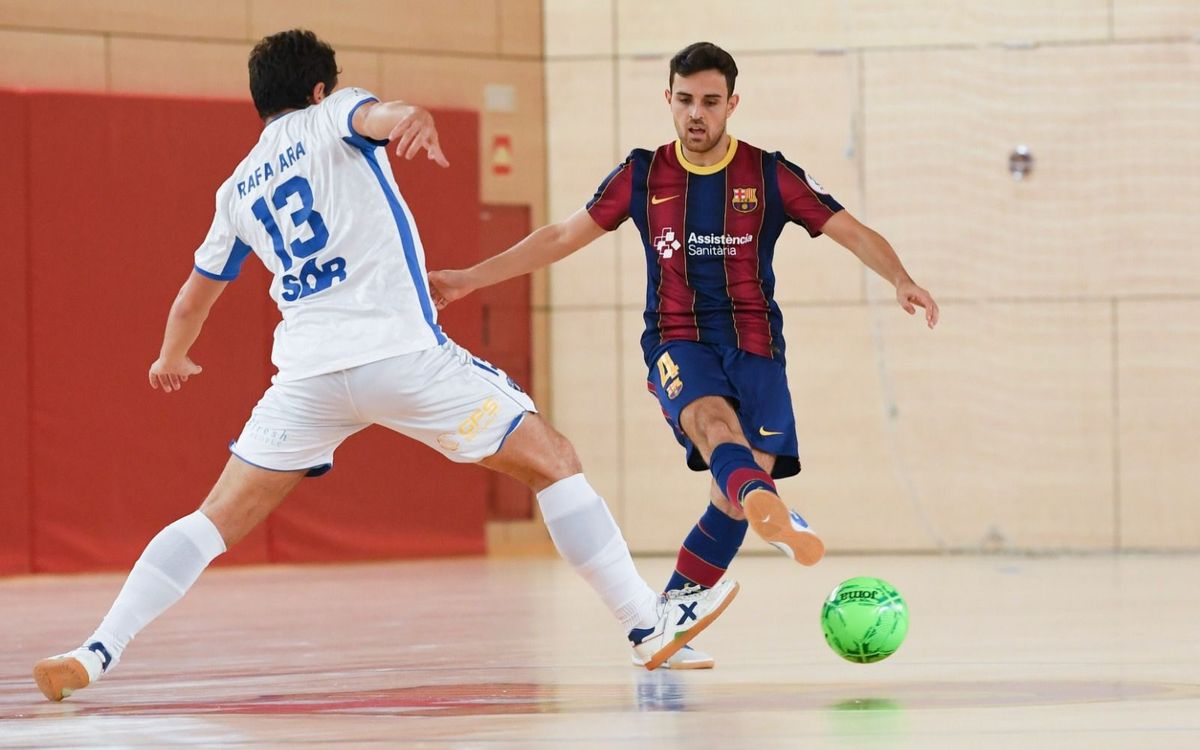 FC Barcelona B – Family Cash Alzira FS: Triomf vibrant per iniciar la Lliga (6-3)