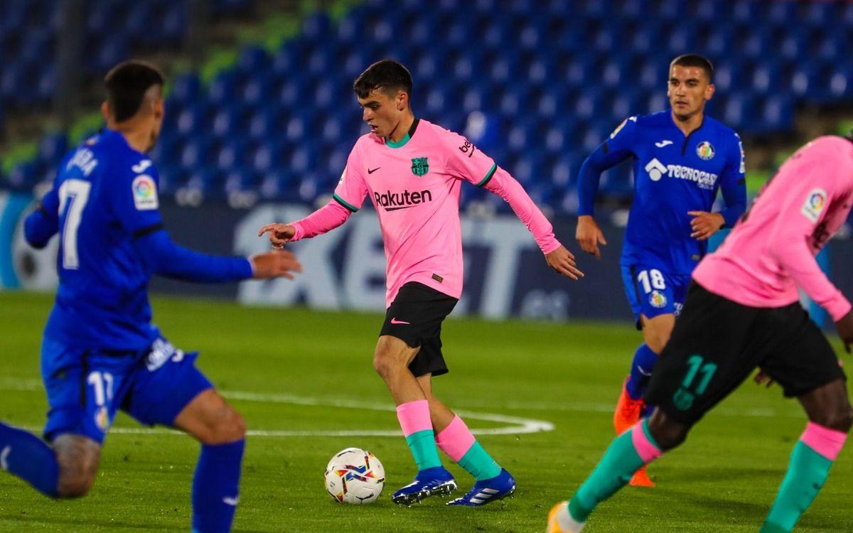 Getafe - Barça: Primera derrota en la Liga (1-0)