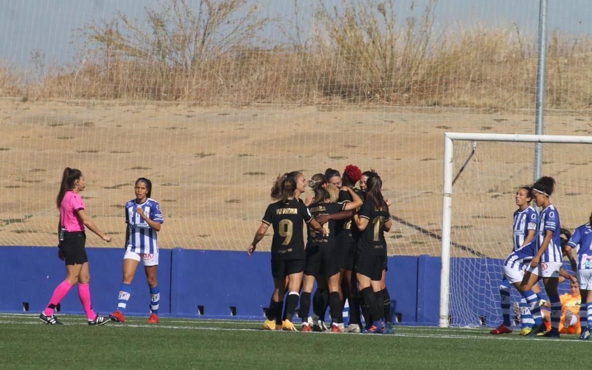 Sporting de Huelva - Barça Femenino: Gran goleada para seguir imparables (0-6)