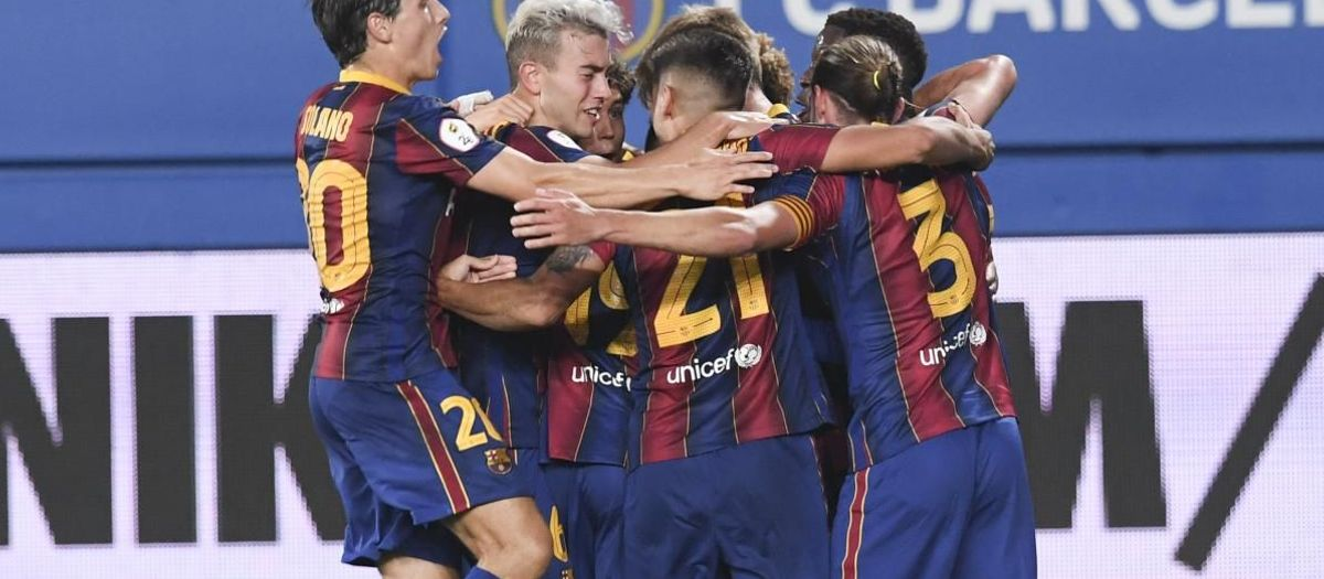 バルサB v ナスティック: 開幕勝利 (1-0)