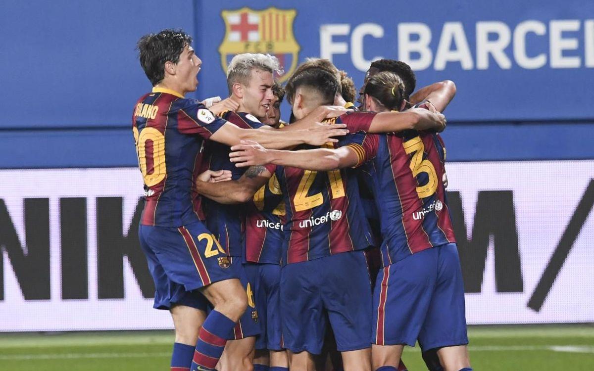 Barça B - Nàstic de Tarragona: Estreno con victoria azulgrana (1-0)