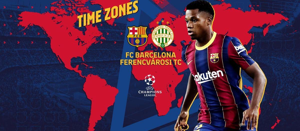 Cuándo y dónde ver el FC Barcelona - Ferencváros