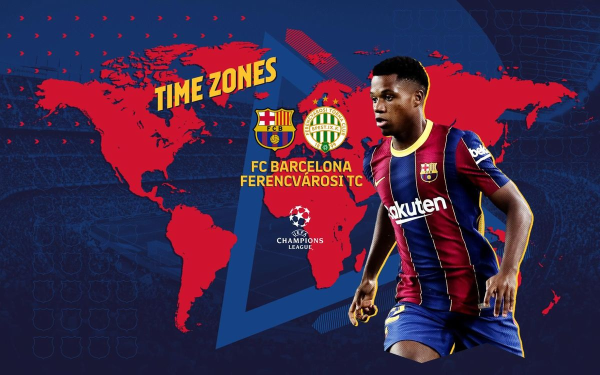 When And Where To Watch Fc Barcelona V Ferencvaros