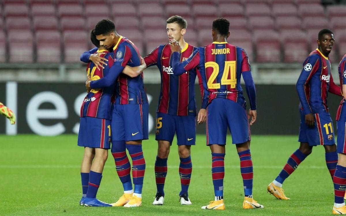 Barça - Ferencváros : Débuts réussis (5-1)