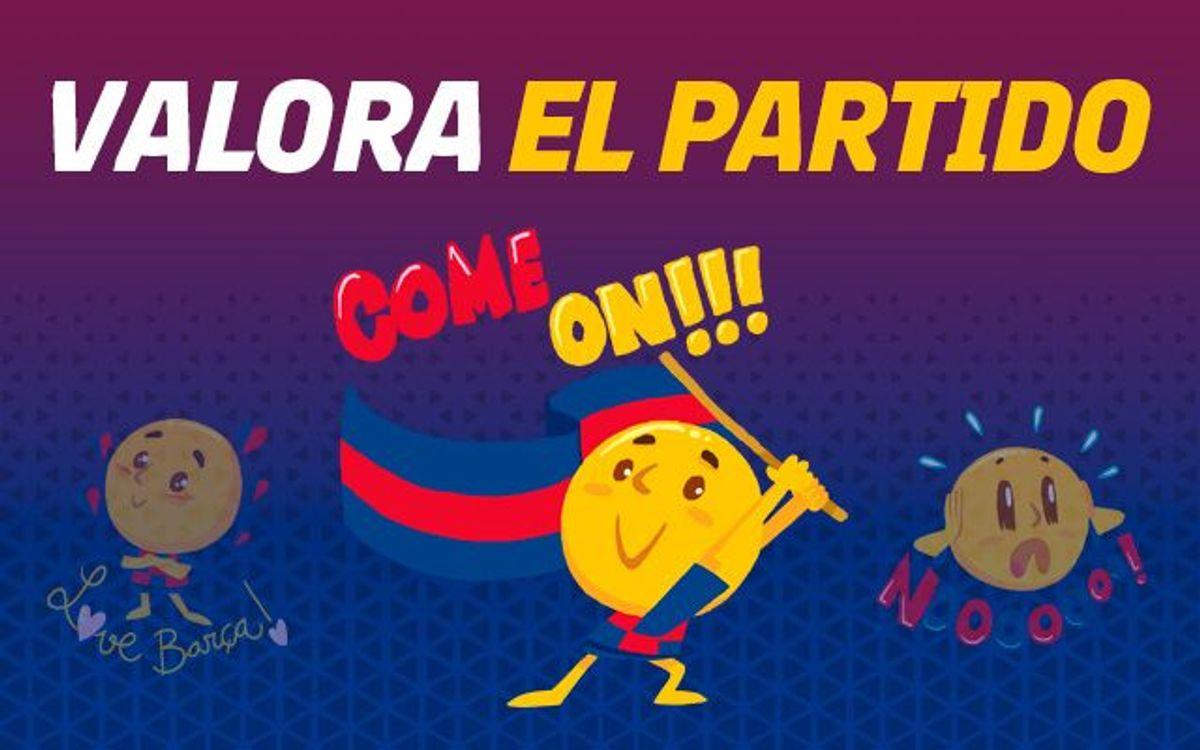 ¡Puntúa el partido del Barça!