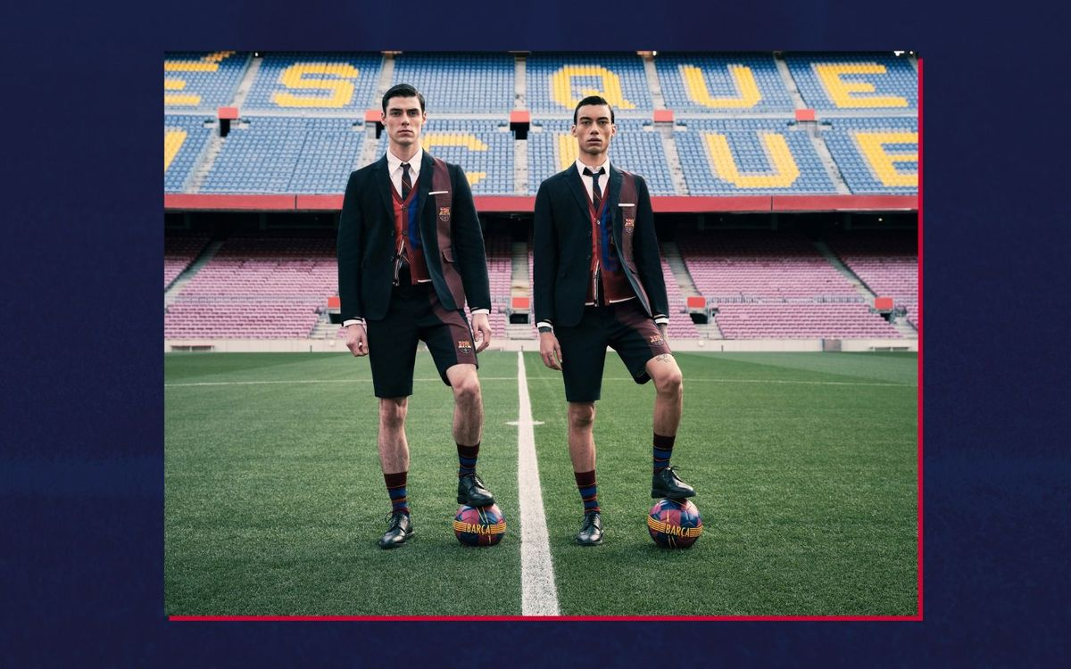 Thom Browne charity collection goes on sale to raise funds for the Barça Foundation