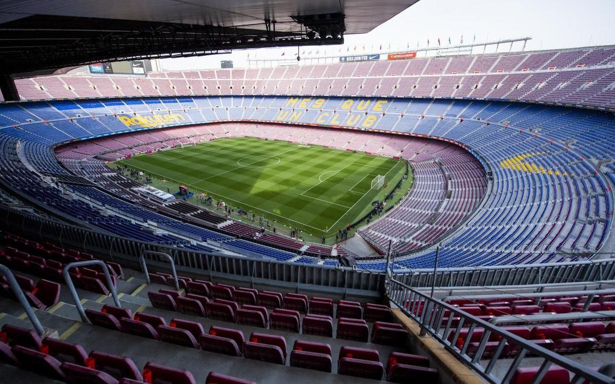 Celebrada la primera reunió del grup de treball tècnic entre el FC Barcelona i la Generalitat de Catalunya en relació als protocols per la Covid-19