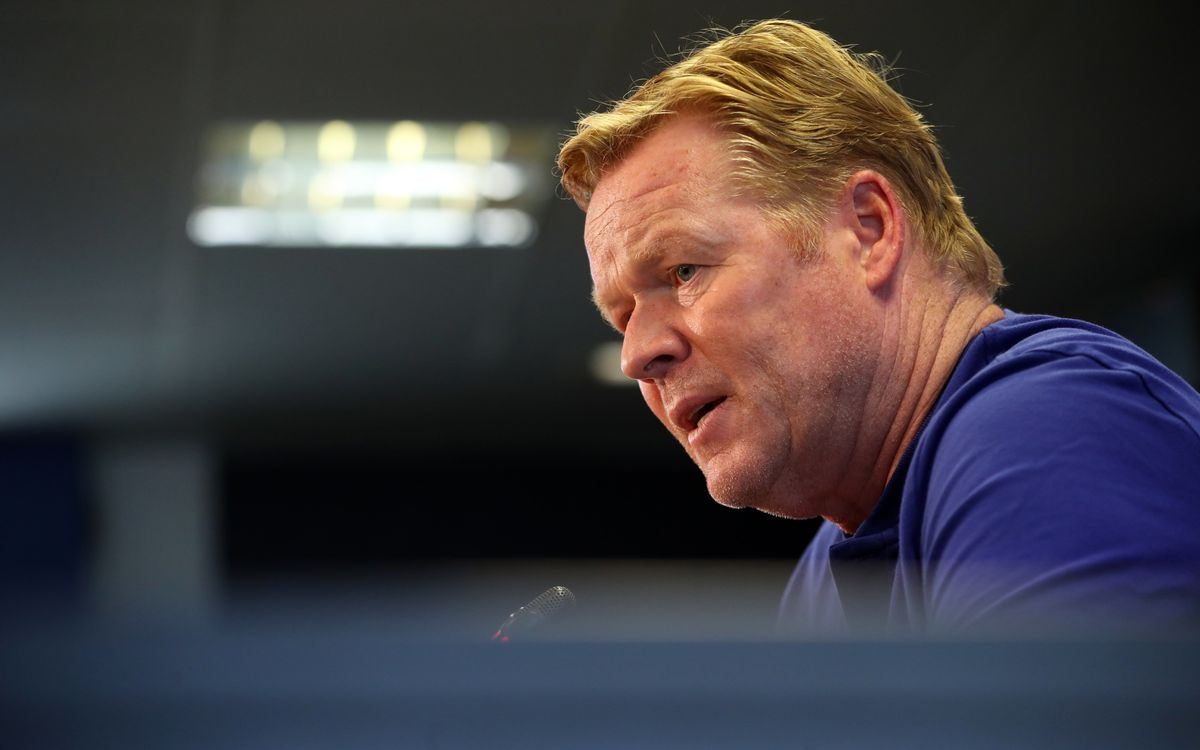Ronald Koeman: 'We're expecting a more compact Real Madrid'