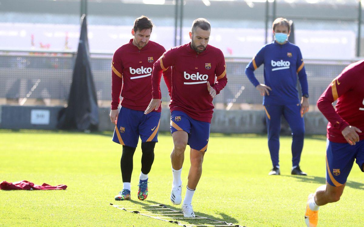 Le groupe du Barça convoqué