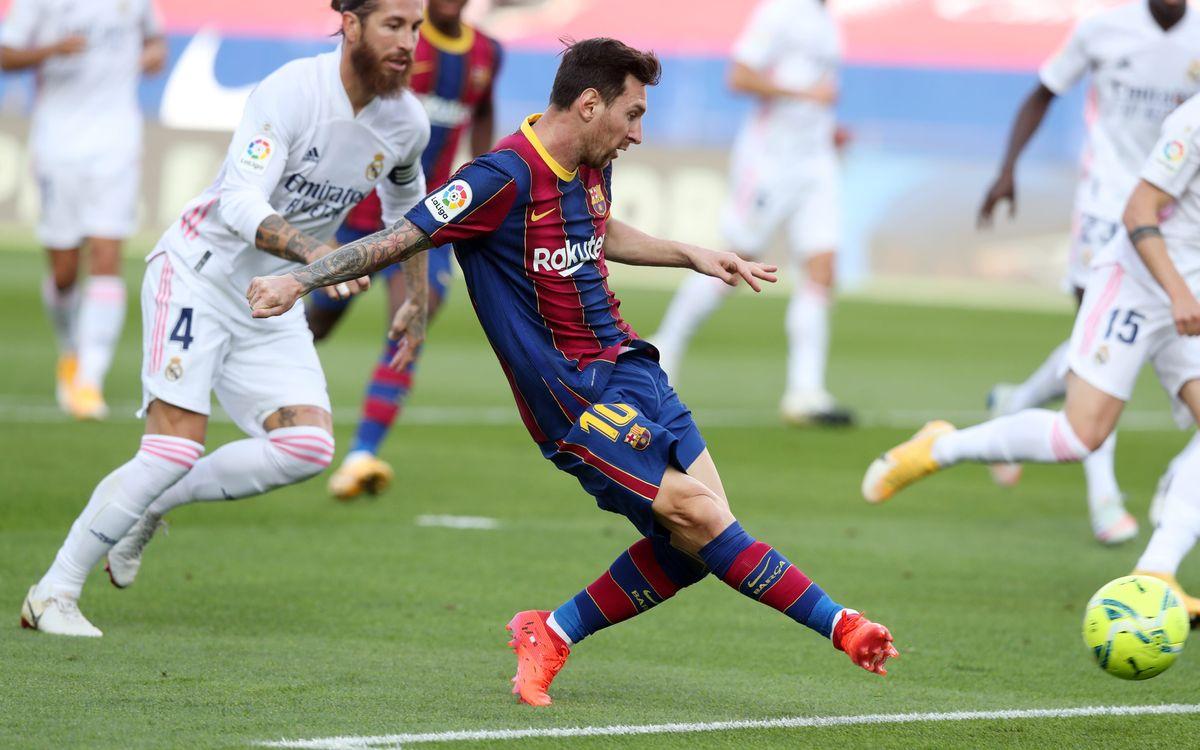FC Barcelone - Real Madrid : Défaits lors du Clasico (1-3)