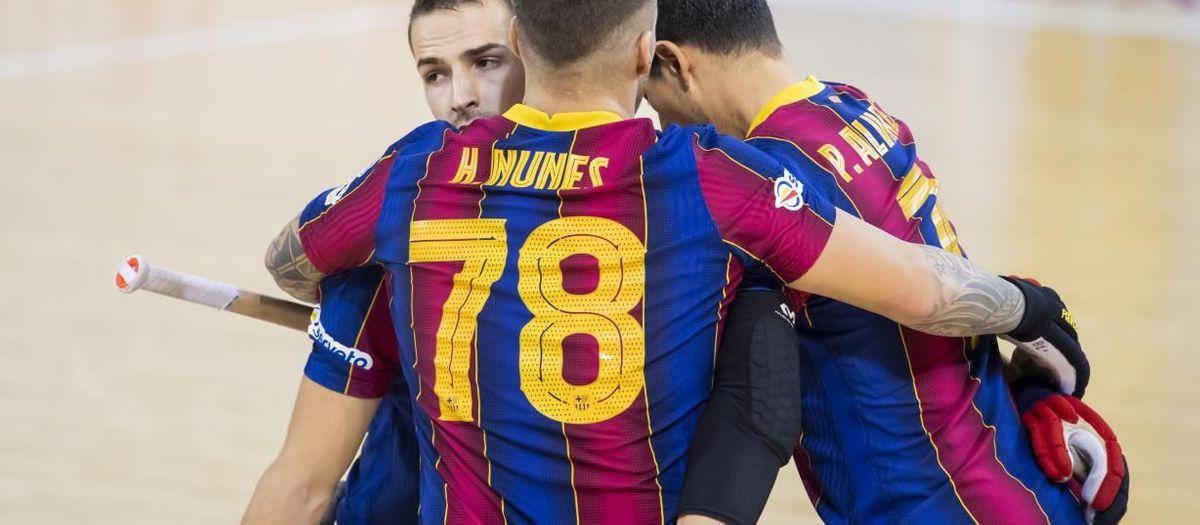 Barça 8-1 Noia Freixenet: Goals galore at the Palau