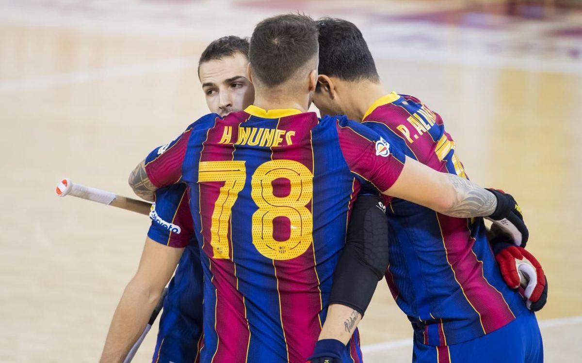 Barça - Noia Freixenet: Goleada culé en el Palau (8-1)