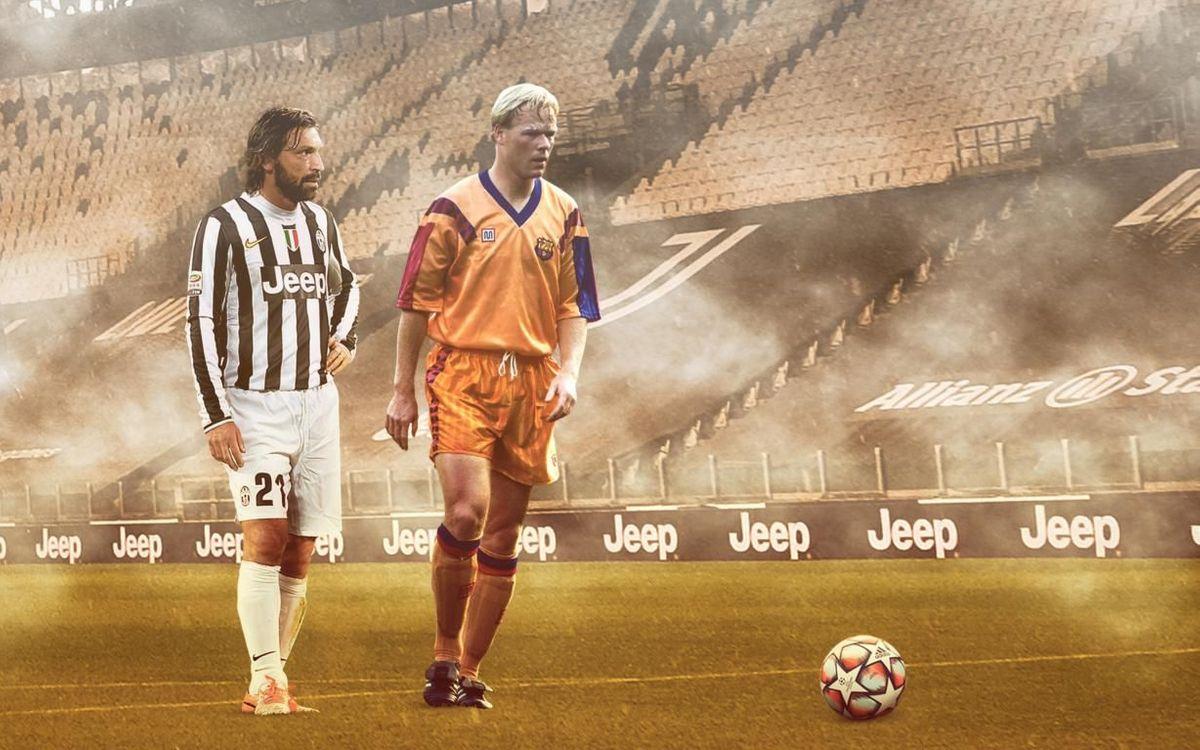 Ronald Koeman y Andrea Pirlo: 40 años ininterrumpidos de fútbol