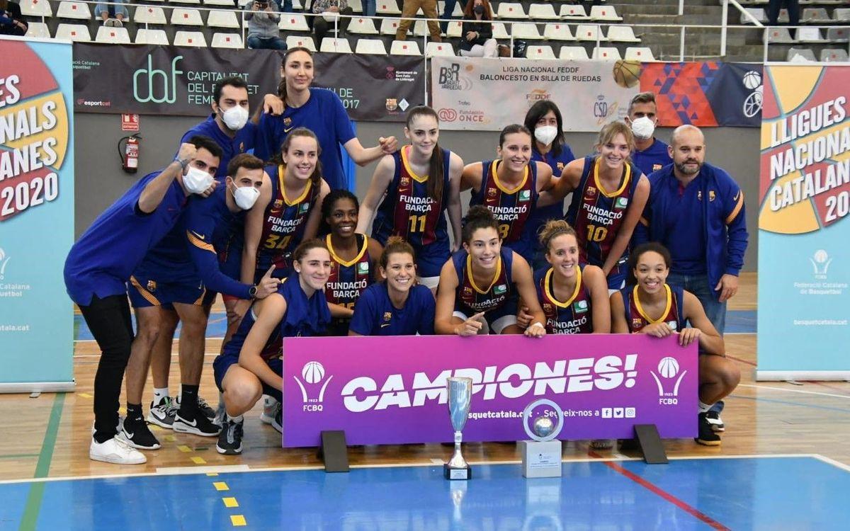 El Barça CBS, campeón de la Lliga Catalana Femenina 2