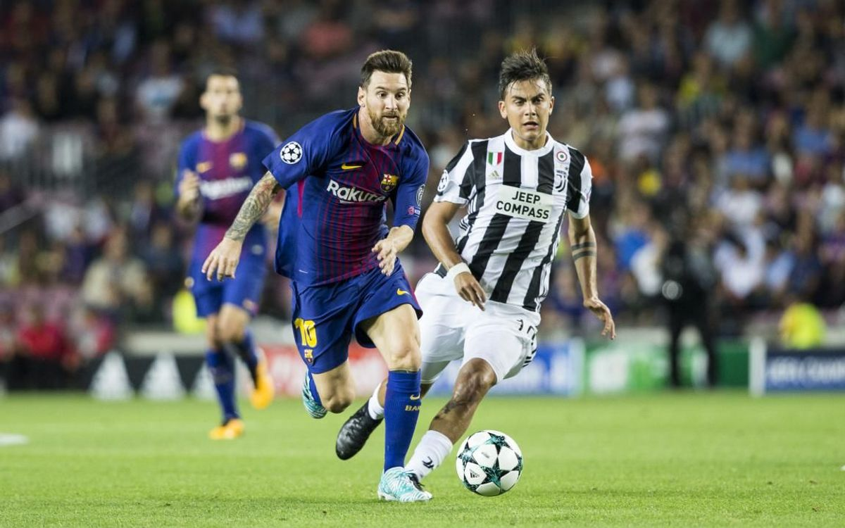 Juve v Barça, familiar faces