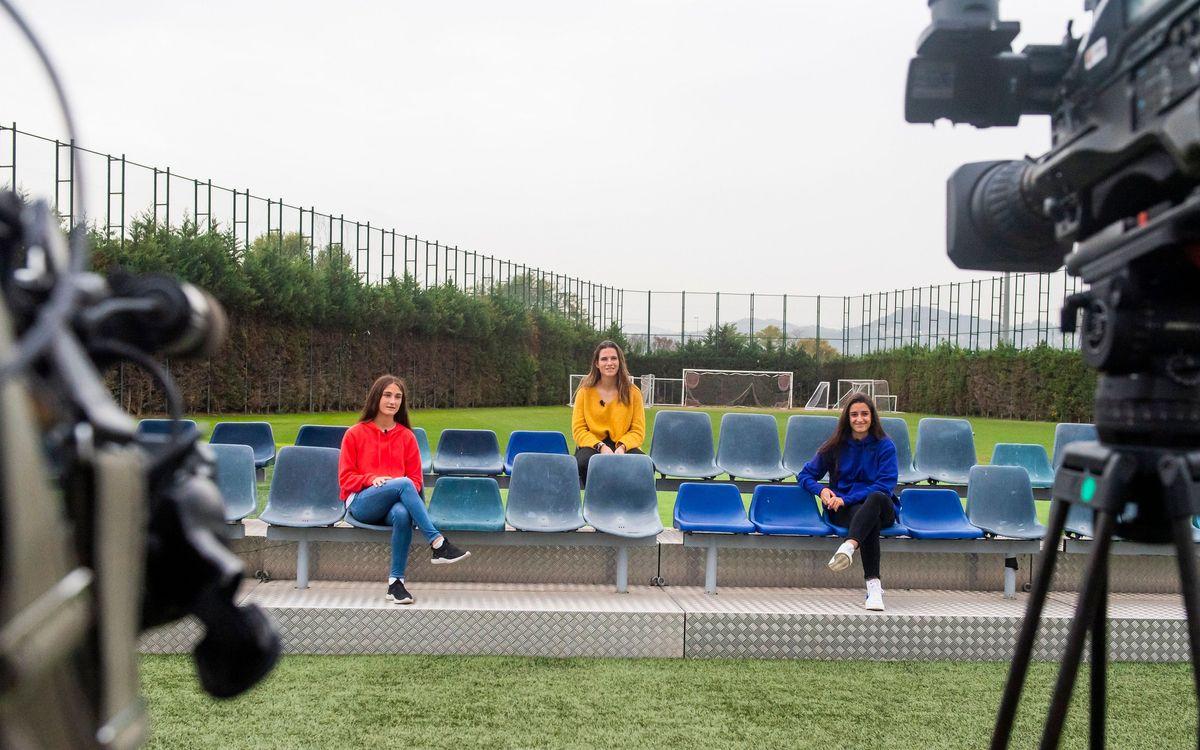 Laia Codina, Bruna Vilamala y Jana Fernàndez: Un futuro que se hace presente