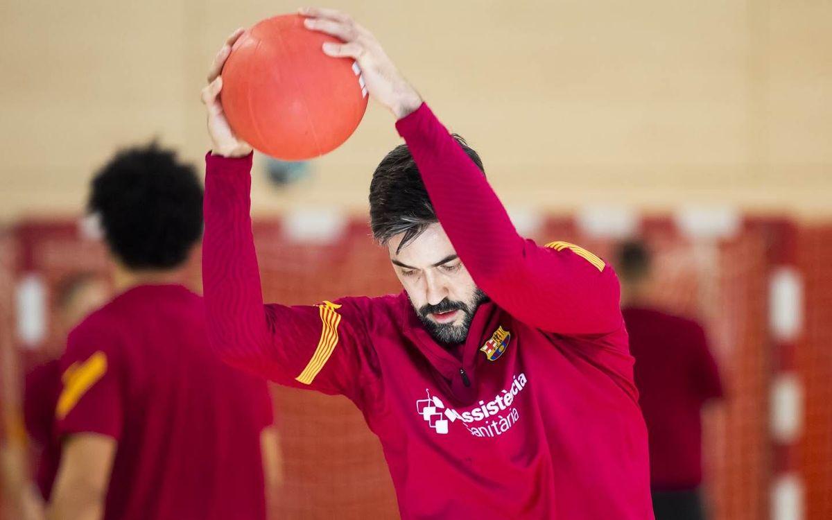 El Barça retoma los entrenamientos