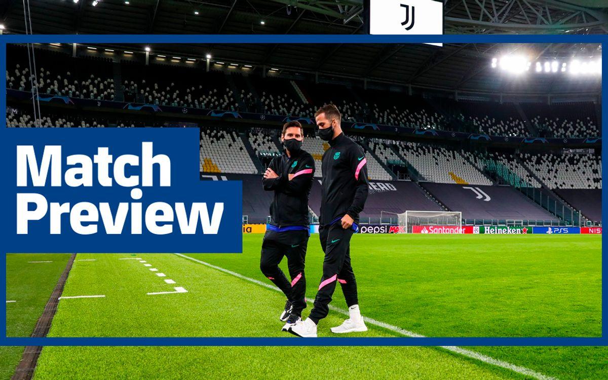 インサイドビュー:#JuveBarça プレビュー