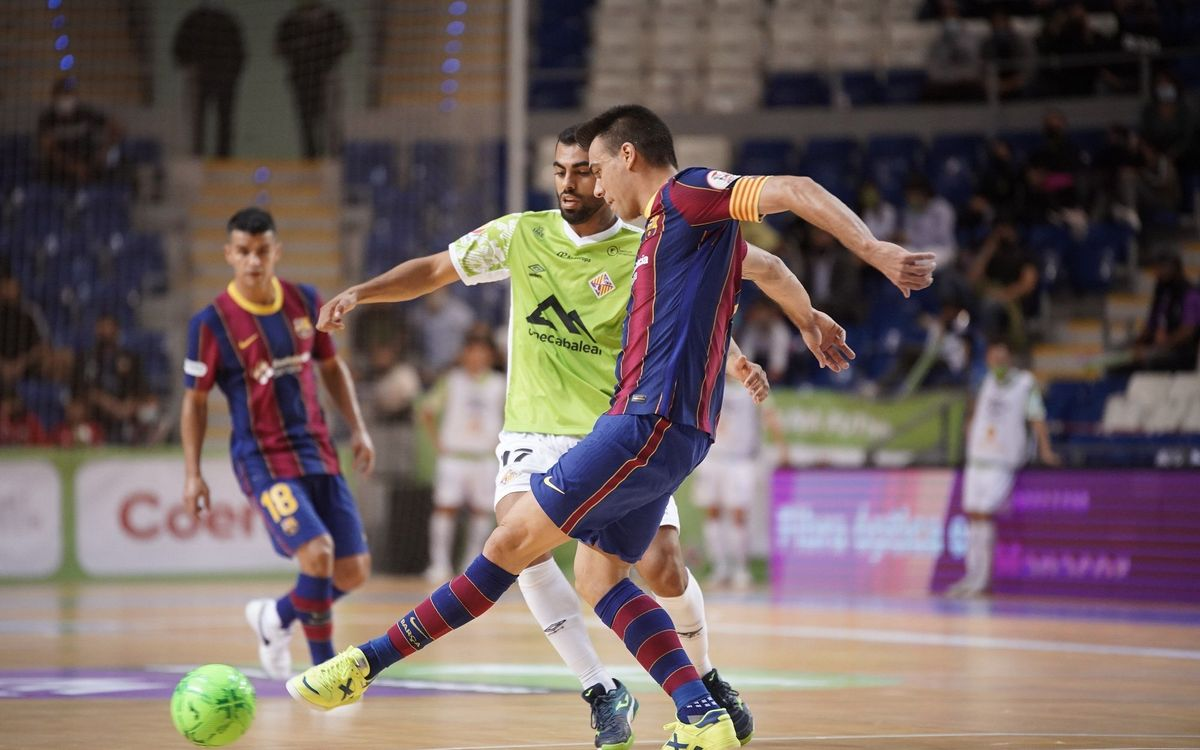 Palma Futsal 4 Barça 3: Negative run continues