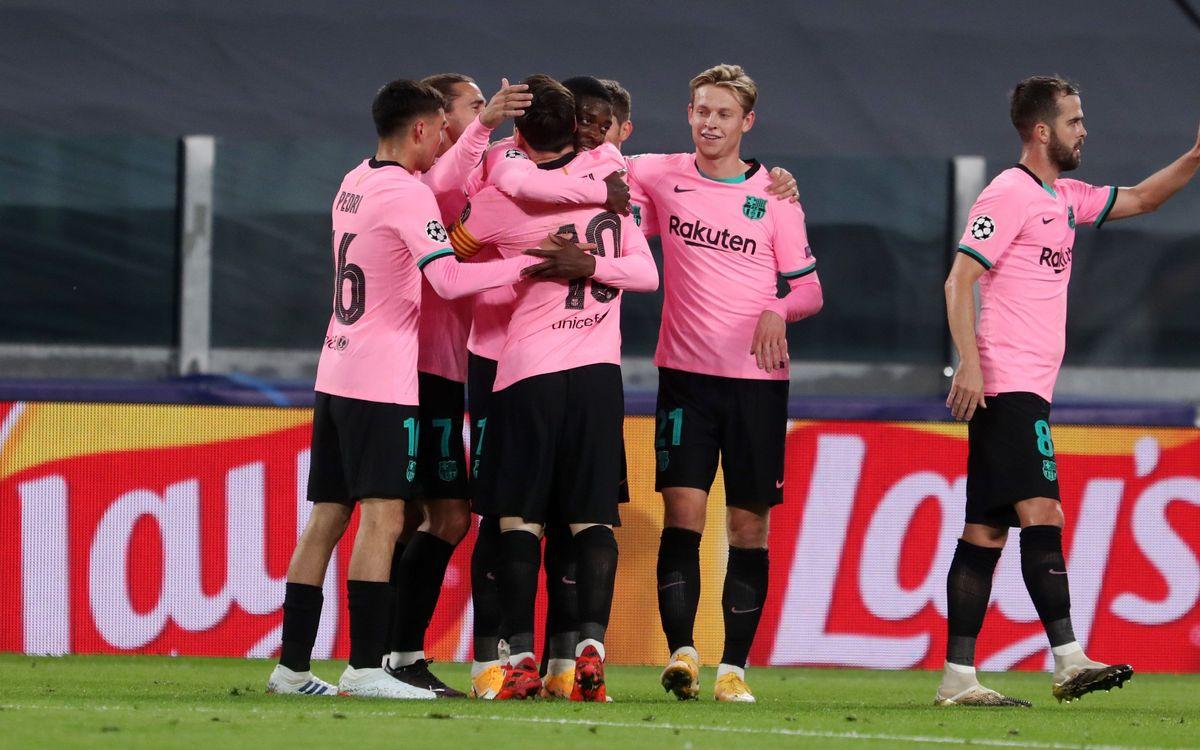 Juventus - Barça: La vie en rose (0-2)