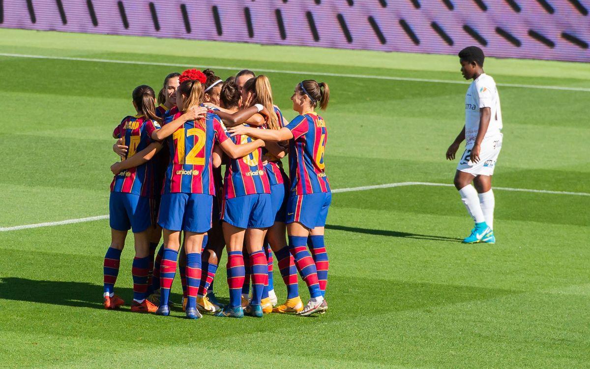 Un noviembre intenso para el fútbol femenino azulgrana