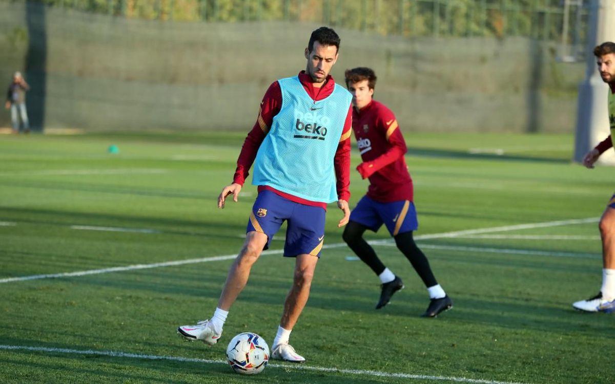 Sergio, con un esguince del ligamento lateral externo de la rodilla izquierda