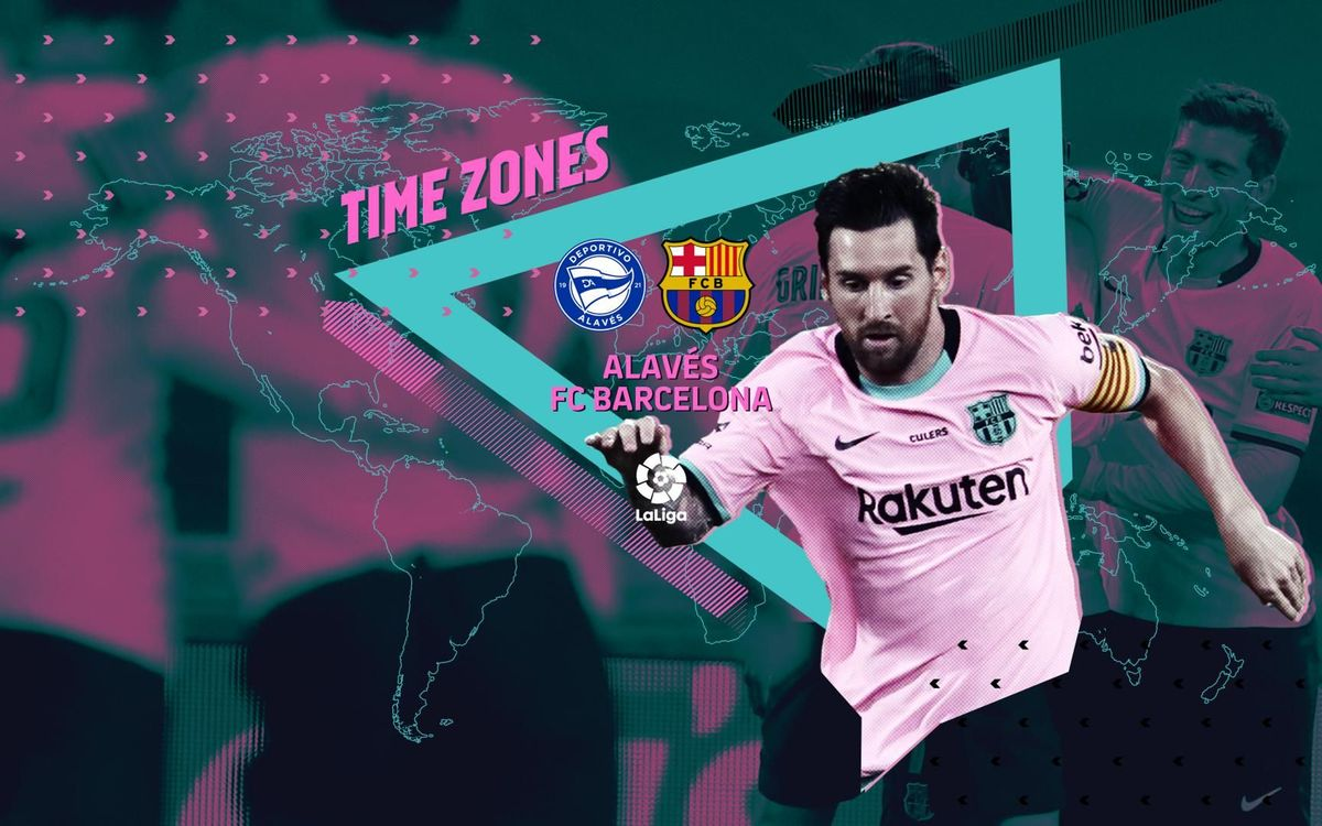 When and where to watch Alavés v FC Barcelona
