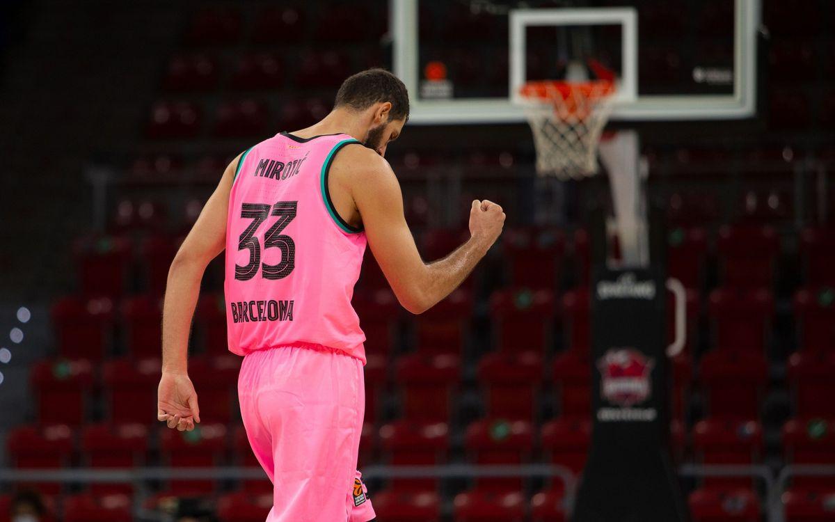 Baskonia - Barça: Victoria de mucho mérito en el Buesa Arena (71-72)
