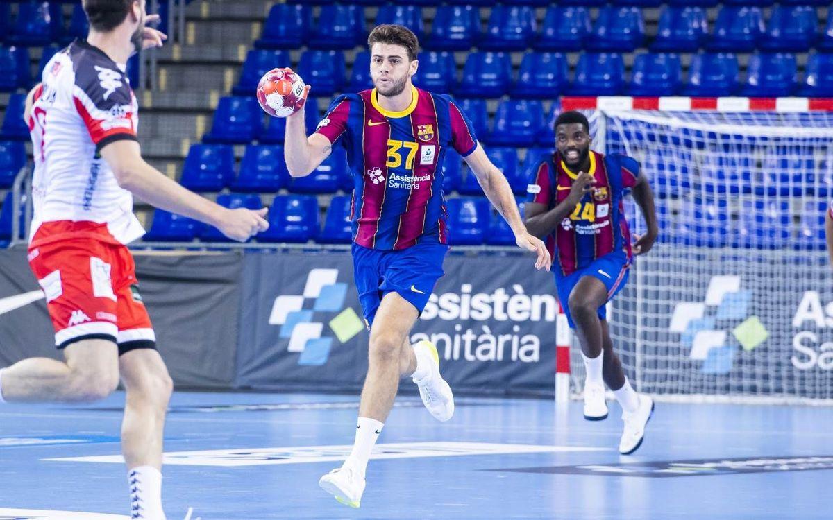 Barça – BM Benidorm: A por un nuevo reto sin interrupción