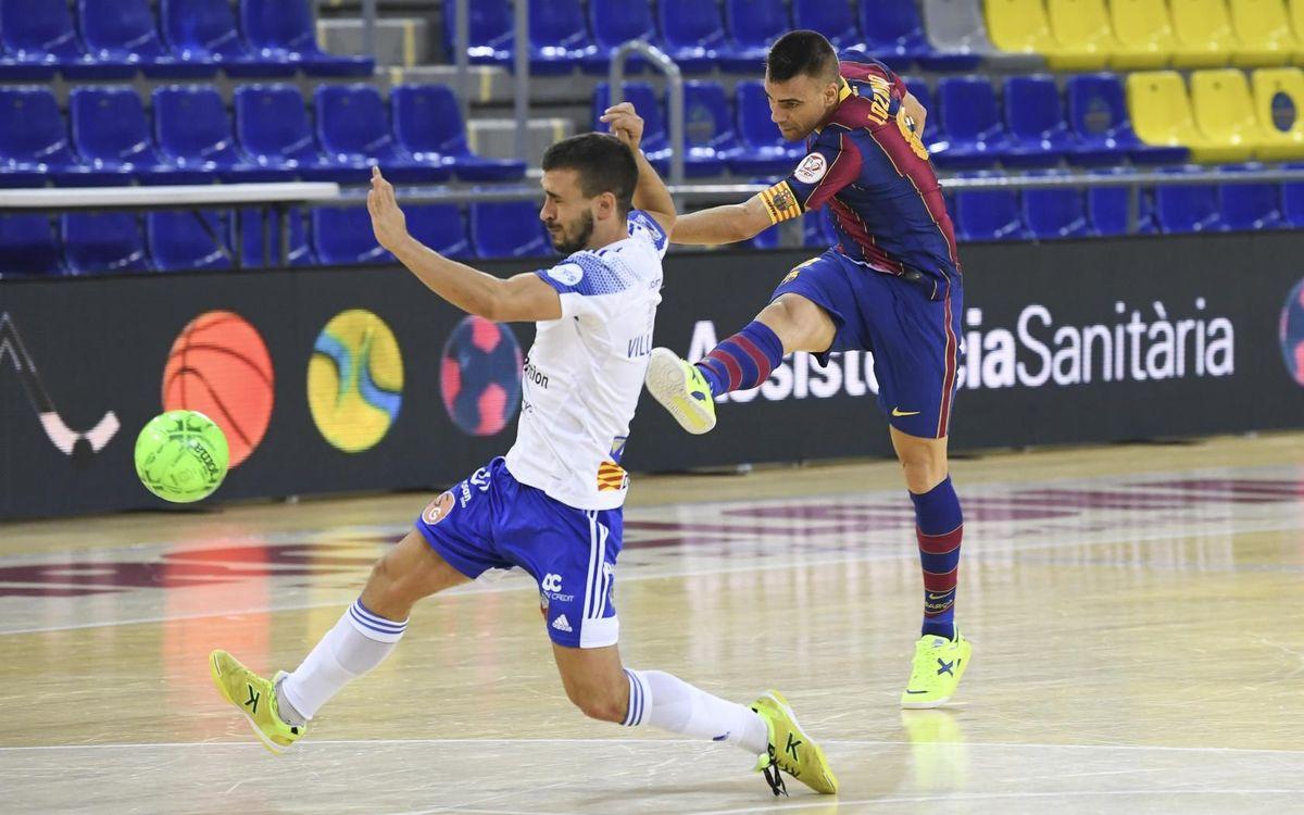 Barça 2-2 Fútbol Emotion Zaragoza: Penalty controversy