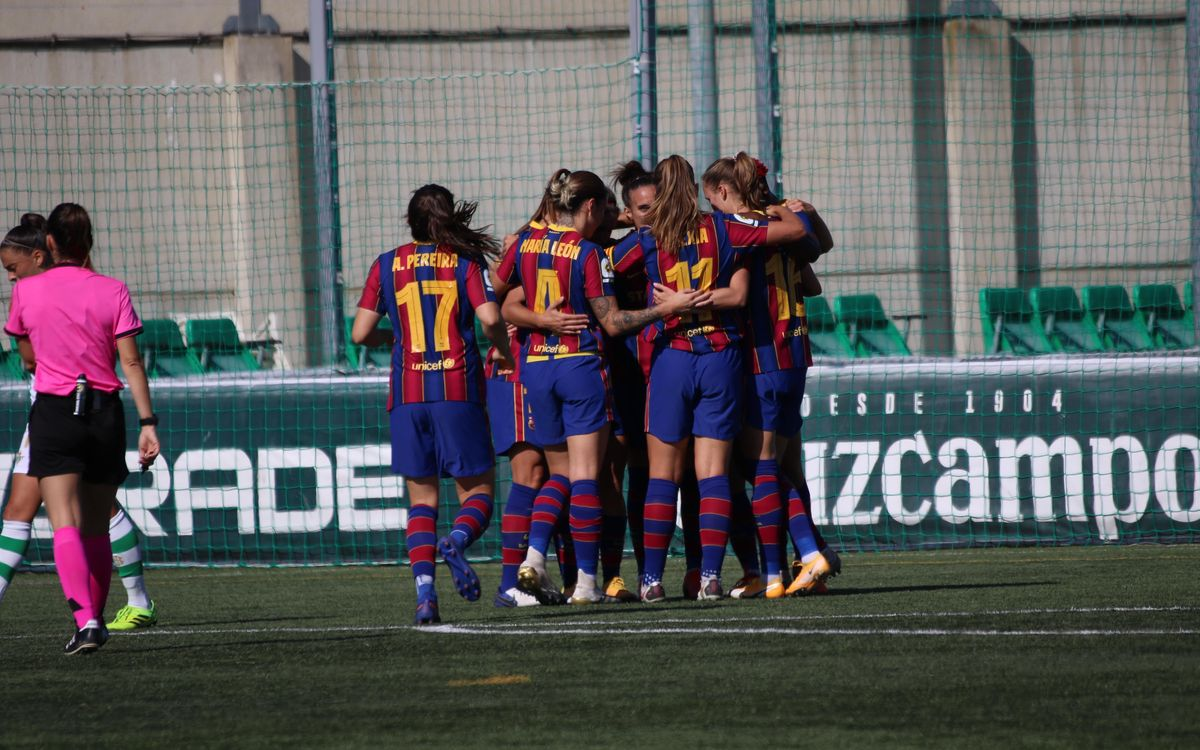 Real Betis - FC Barcelona: Regreso con goleada (0-5)