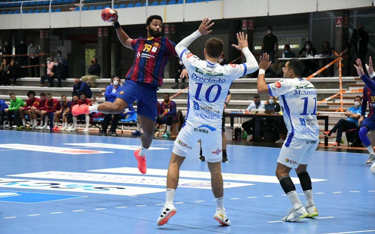 Dicsa Modular Cisne - Barça: Concluyen con un nuevo triunfo (27-43)