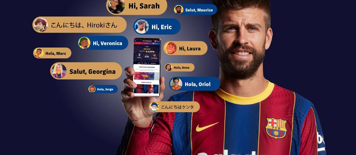 Nouvelles caractéristiques du Barça avec un design conçu pour vous