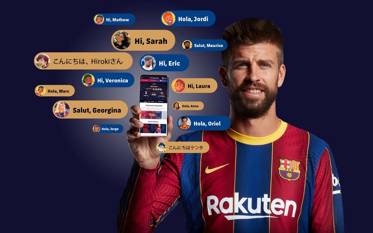 Nuevas características del Barça diseñadas sólo para ti