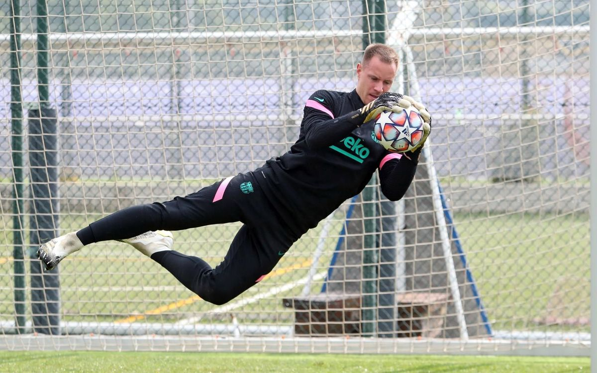 Ter Stegen back in squad to face Dynamo Kyiv