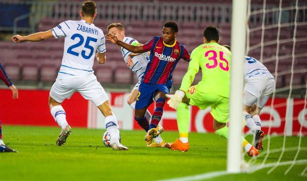 13+ Barcelona Vs Dynamo Kyiv 0-4