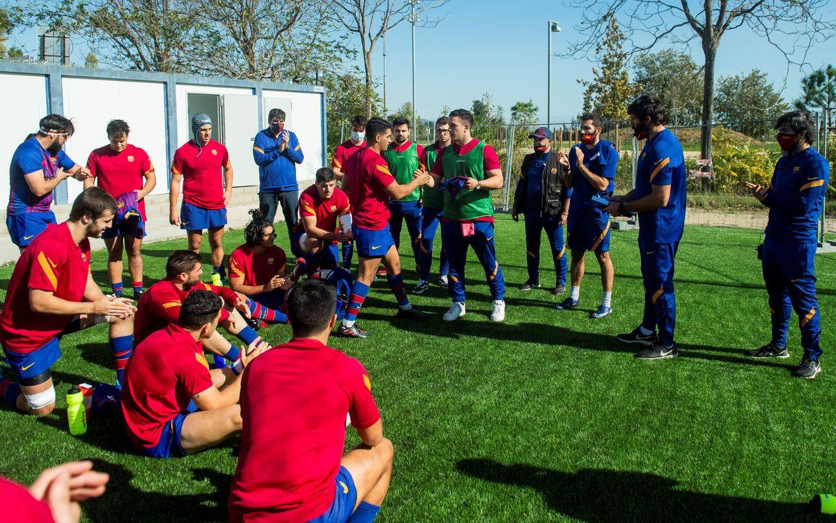Primera sesión formativa de la temporada para los técnicos de los Deportes Amateurs