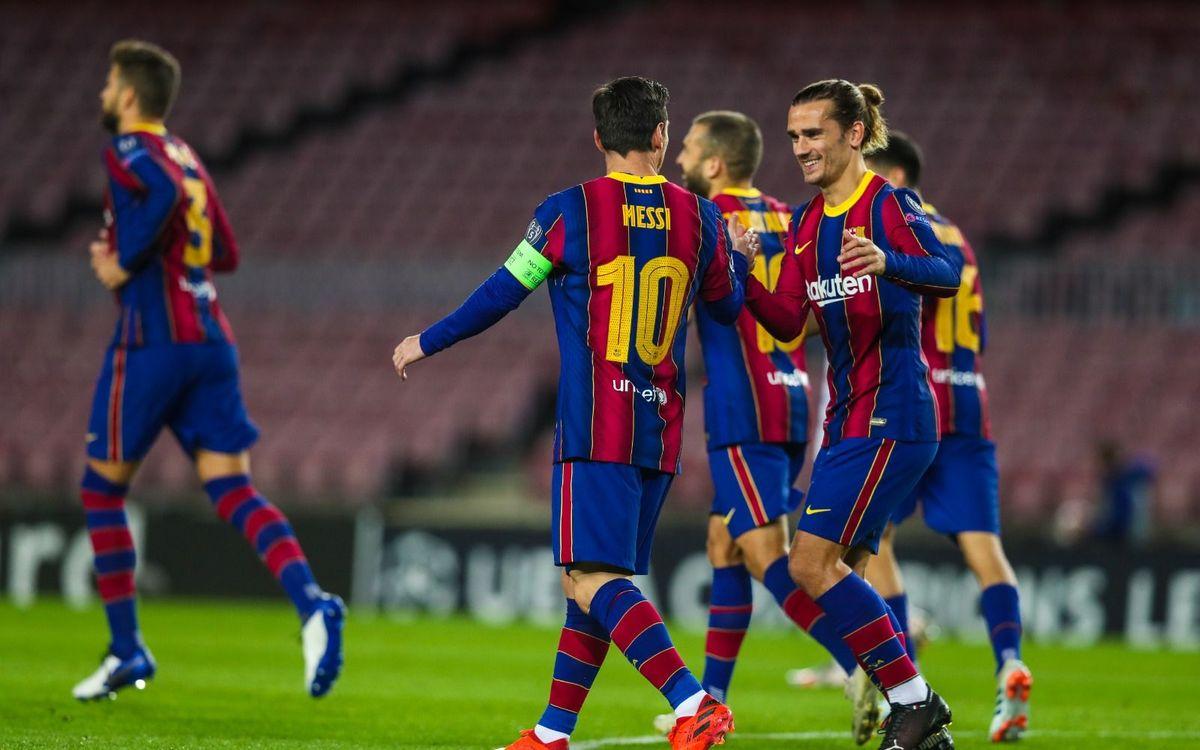 Fc Barcelona V Dynamo Kyiv 100 Record In Europe Intact 2 1