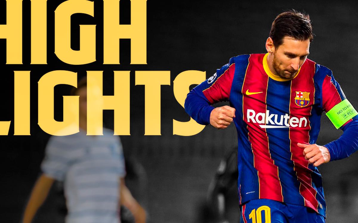 Les moments forts de Barça - Dynamo (2-1)