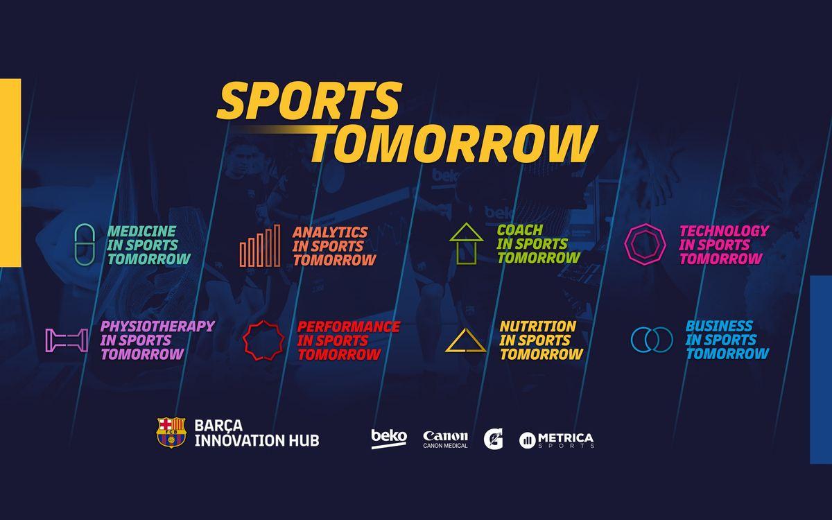 El Barça Innovation Hub organiza el congreso online 'Sports Tomorrow', una nueva cita con la innovación deportiva