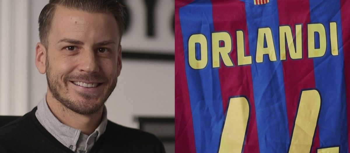 Andrea Orlandi: a career marked by the pride of having played for Barça
