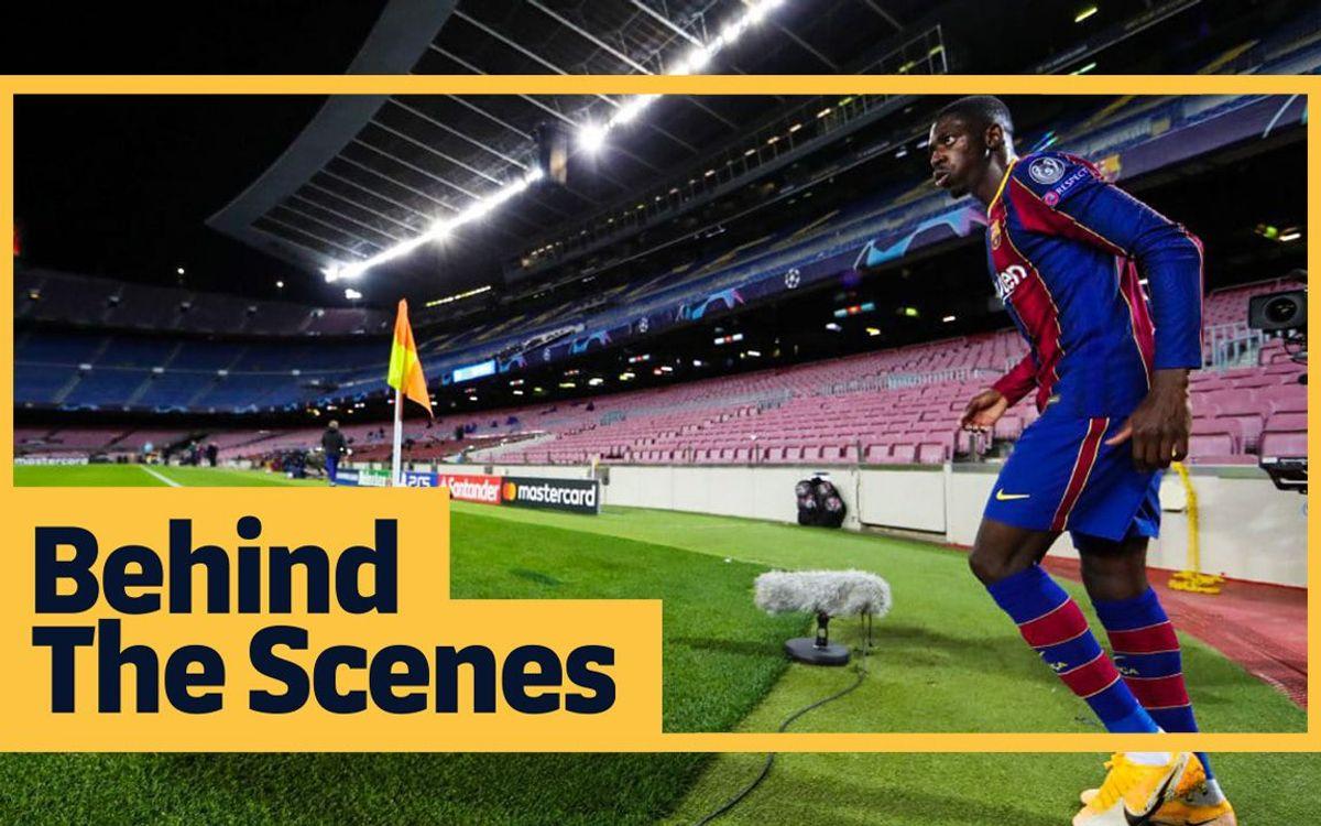 Les coulisses de Barça - Dynamo (2-1)