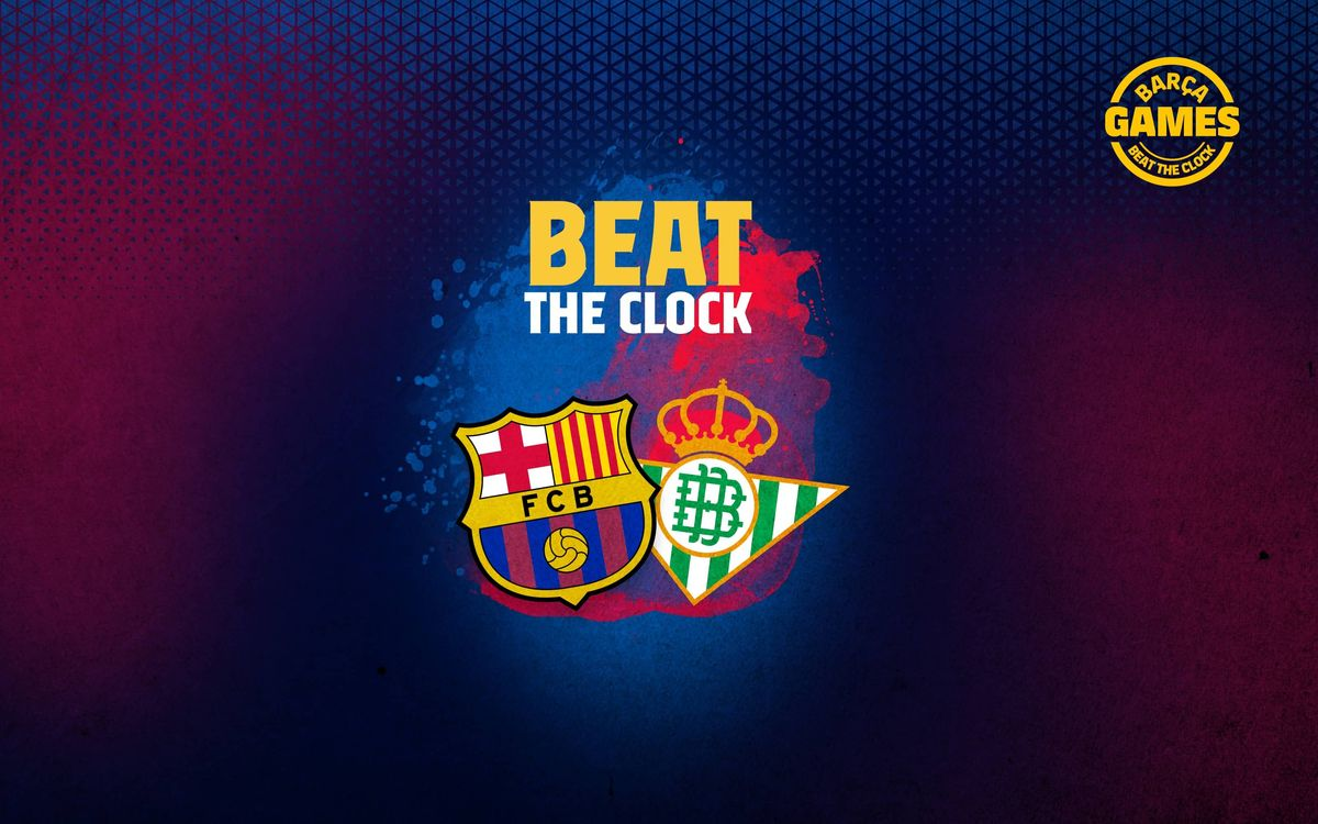 BEAT THE CLOCK | Name the 18 footballers who have played for Barça and Betis in the 21st century