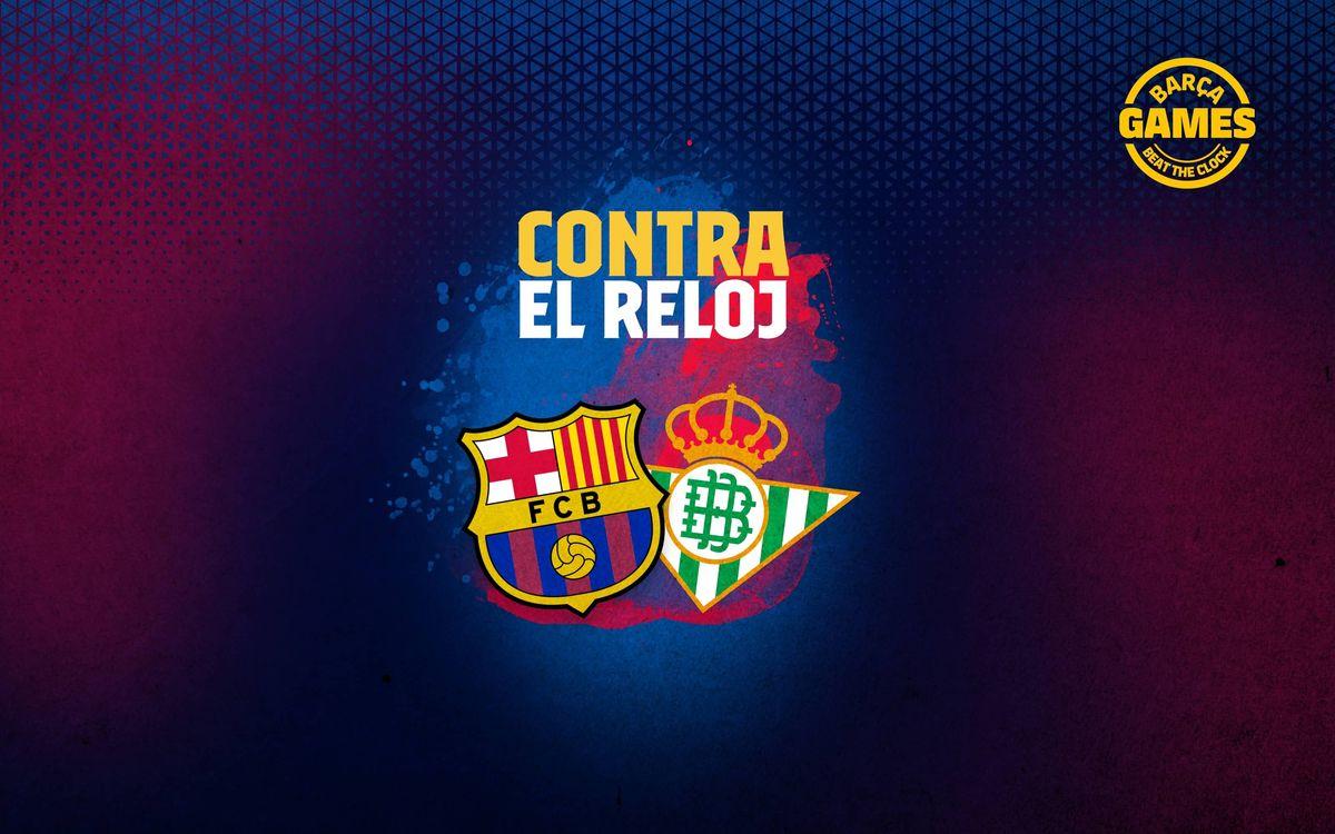 CONTRA EL RELOJ | Nombra los 17 futbolistas que han estado en Barça y Betis en el s. XXI