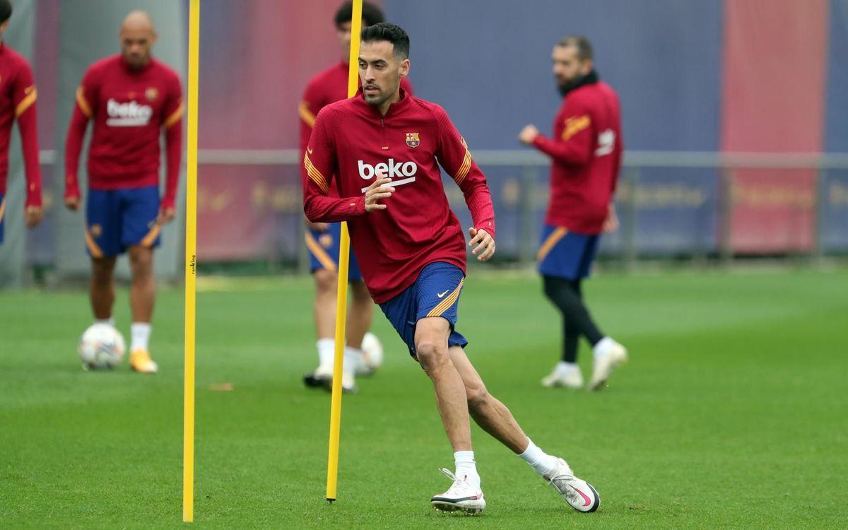 Sergio Busquets souffre d'une entorse du ligament latéral externe du genou gauche
