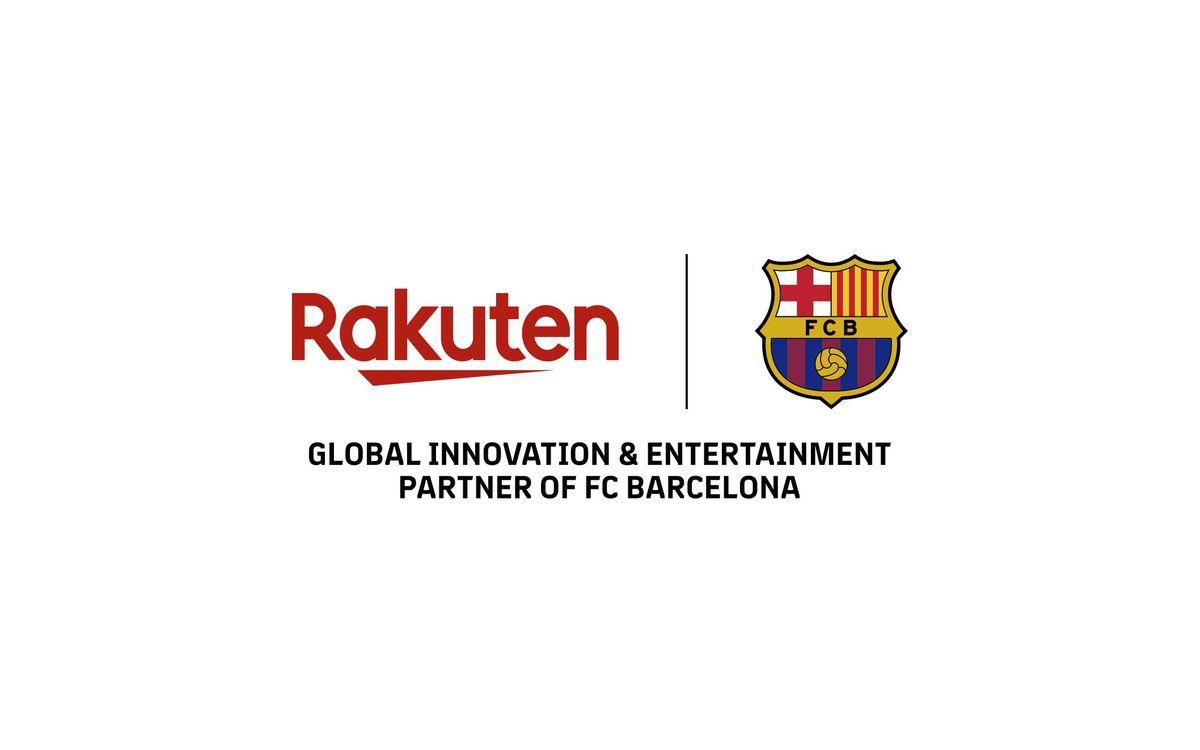 El FC Barcelona y Rakuten extienden su partnership hasta la temporada 2021/22, y ejecutan así la opción prevista en el acuerdo original